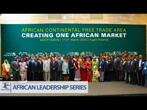 African Union Speech on the Establishment of the Historic African Free Trade Area