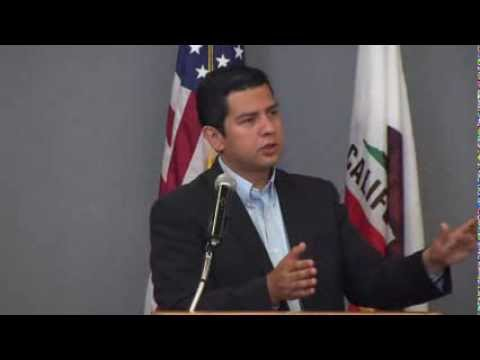 David Alvarez Candidate for Mayor at The City Club Of San Diego