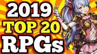 Top 20 Mobile Rpg's 2019 So Far !!   (gacha/hero Colllectors, Mmo's,rpgs)