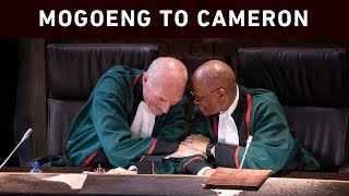 Chief Justice Mogoeng Mogoeng paid tribute to Justice Edwin Cameron during a special sitting at the Constitutional Court on 20 August 2019. Justice Cameron is retiring after 25 years of judicial service.