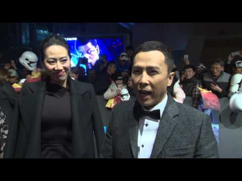 Star Wars: The Force Awakens: Donnie Yen Shanghai China Premiere Interview
