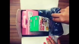 Instax Mini 8 Joybox Unboxing
