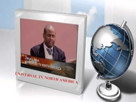 Watch Live News Online: www.tvuniversal.tv.Zakaria Aden Universal tv North America