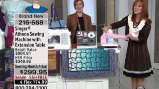 Singer Athena Sewing Machine With Extension Table