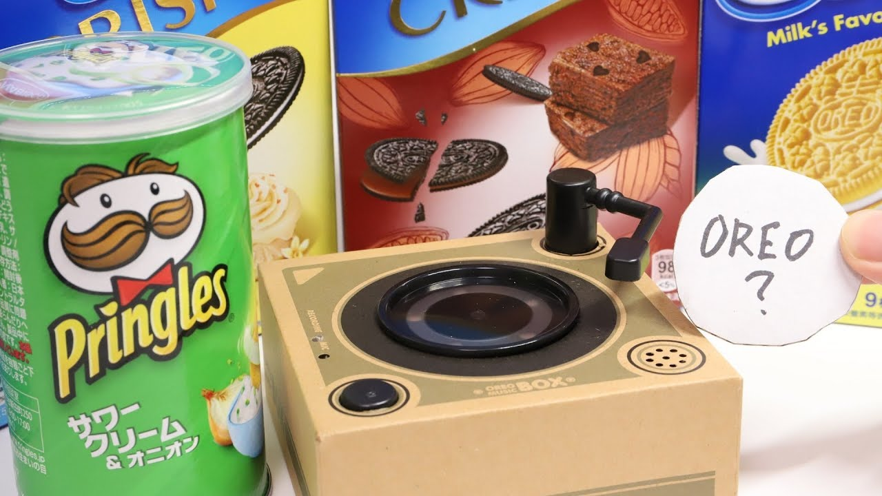 Oreo Music Box Cookie Record Player Check Other Cookies Youtube