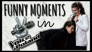Michał Szpak- Funny moments in The Voice of Poland #1