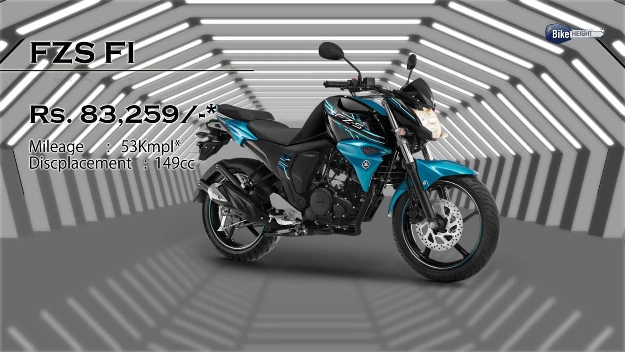 Yamaha Fzs Colours Available