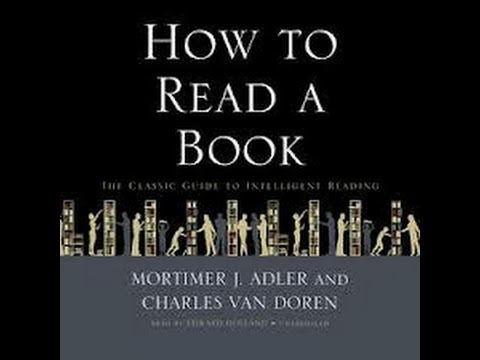 how to read a book chapter 17 youtube