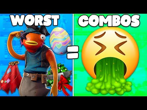 VIEWERS Sent Me Their WORST COMBOS In Fortnite... (viewers Make Worst Combos)