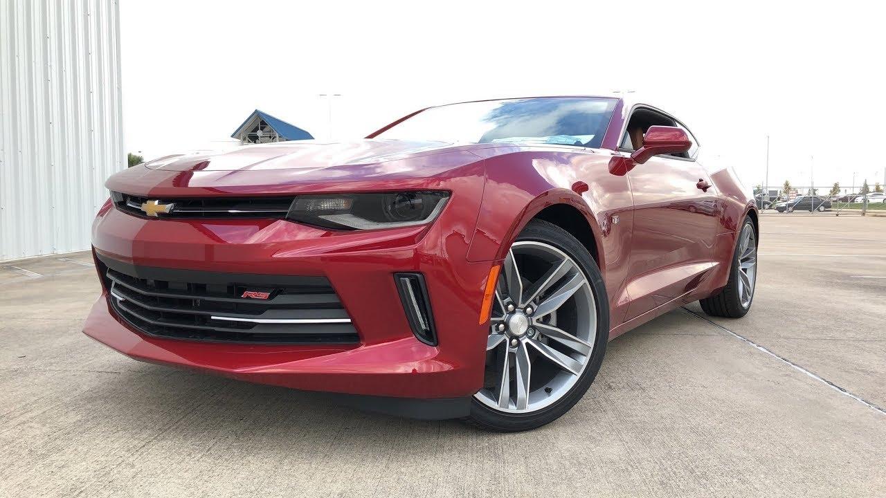2018 Chevrolet Camaro 2lt Rs 3 6l V6 Review