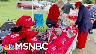 The Math To The Madness Of President Donald Trump Merchandise | Velshi & Ruhle | MSNBC