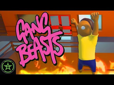 Let's Play - Gang Beasts: Just Mortys Killing Mortys