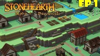Stonehearth - O INÍCIO DA CIDADE! #1 ( GAMEPLAY / PC / PTBR PORTUGUÊS ) HD