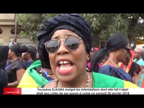 « Les braves femmes togolaises ont encore osé aujourd'hui », dixit Fousséna DJ AGBA