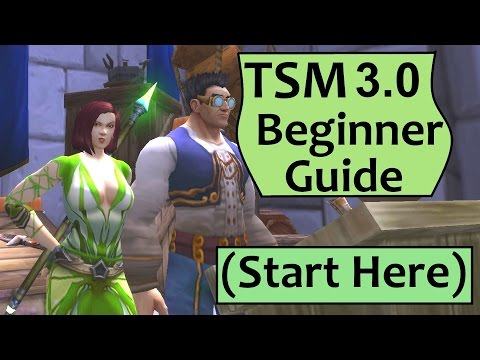 TSM Addon Guide - Getting Started with TradeSkillMaster - YouTube