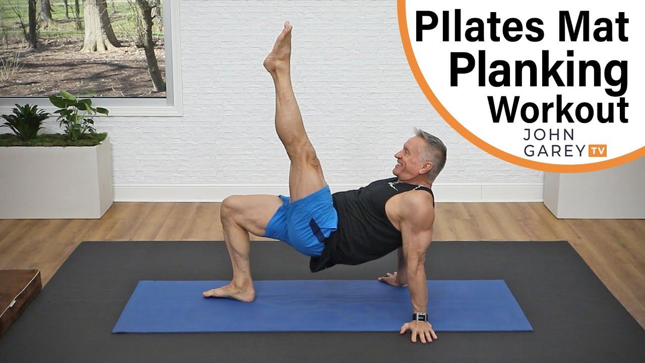 10 Minute Pilates Planking Routine
