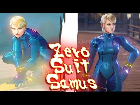 Zero Suit Samus is a great fit for Street Fighter 5
