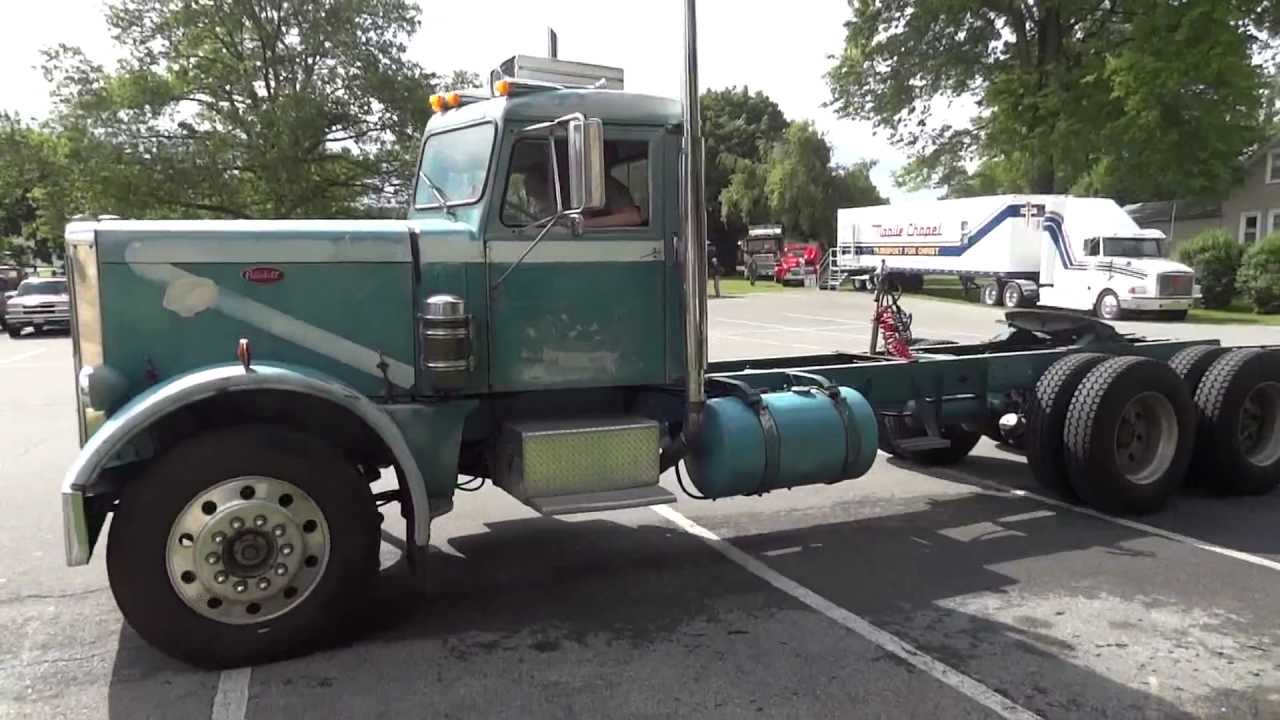1965 White 4000 Semi Tractor : Peterbilt atca macungie youtube