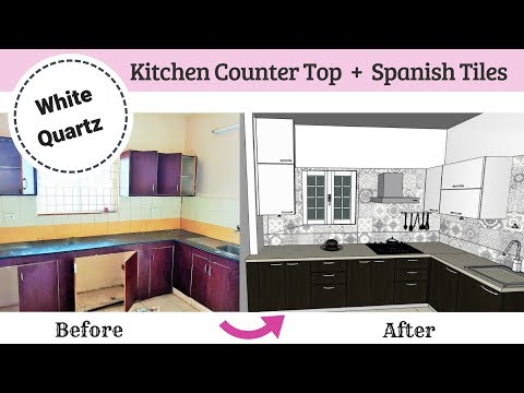Kitchen Renovation Tips - Before / After   Quartz Countertops