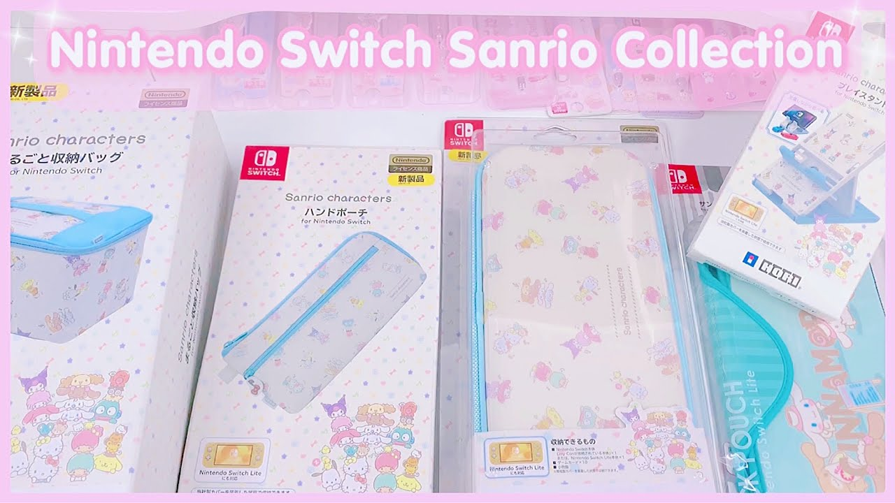 Unboxing Nintendo Switch Sanrio Collection + Review (Amazon Japan)