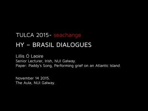 HY – BRASIL DIALOGUES :  Lillis Ó Laoire