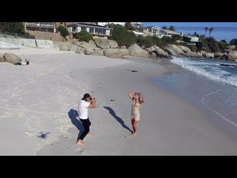 Vlog 1 Clifton adventure (Robbie Louw & Danika Pienaar)