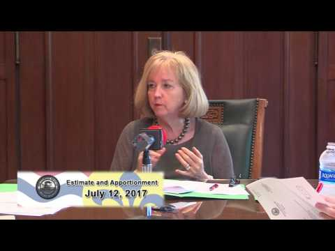 Special Estimate & Apportionment Committee Meeting  July 12 -17