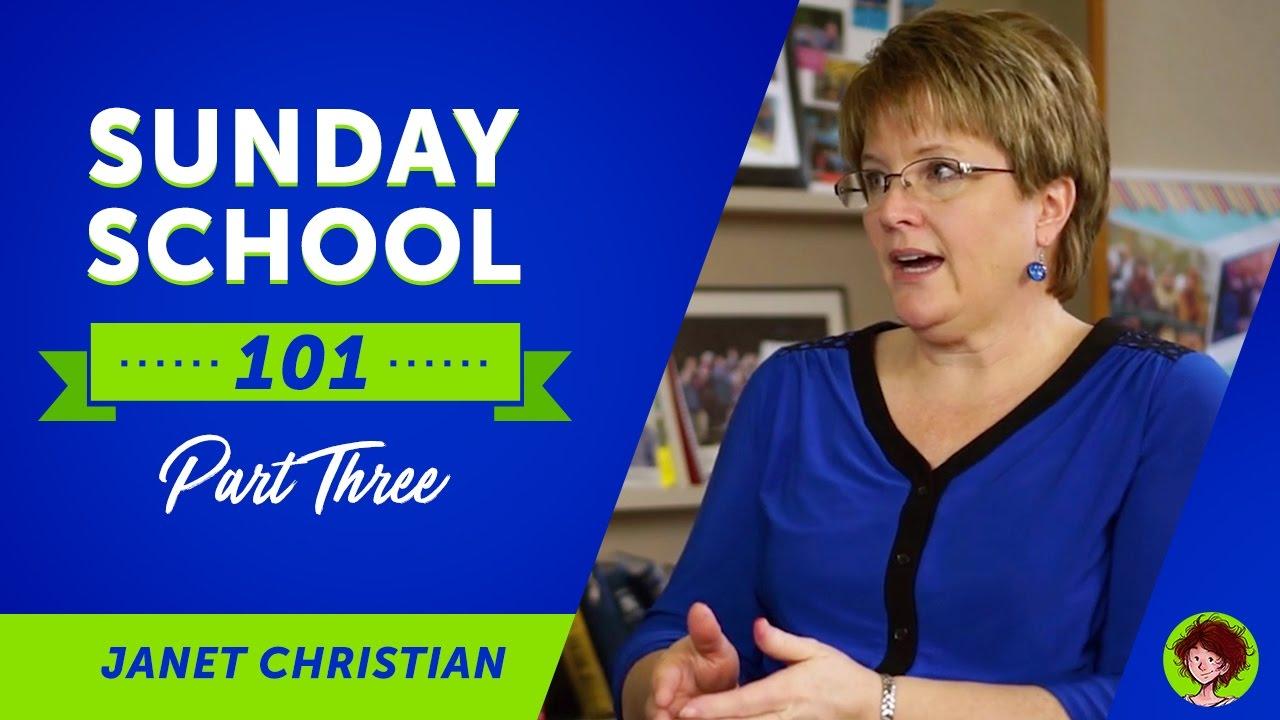 Sunday School Lessons 101 - Part 3   ShareFaith.com