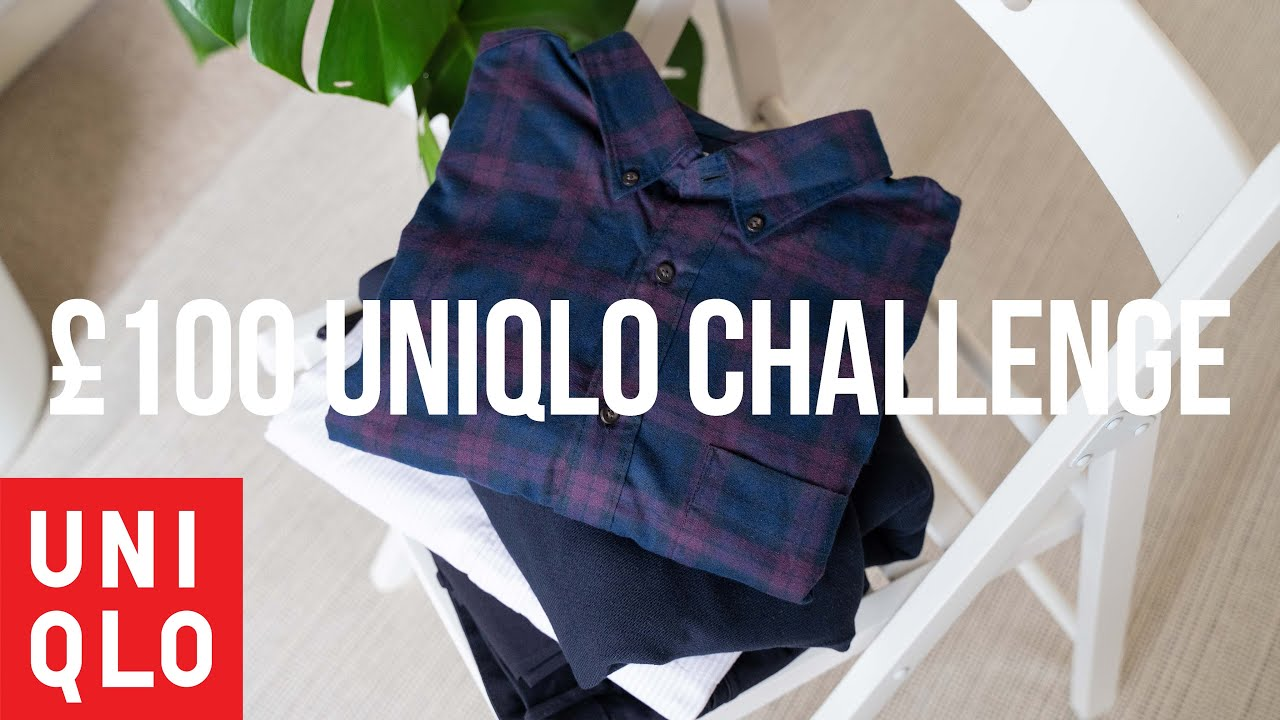 $100 OUTFIT CHALLENGE   UNIQLO