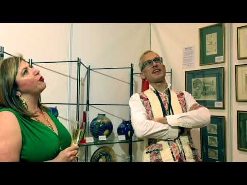 Antiques Roadshow Expert Mark Hill interviewed by The Antiques Diva, London 2018