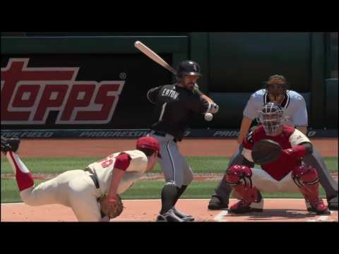 MLB The Show 16. June 24, 2017. Chicago White Sox @ Cleveland Indians.