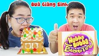 Hubba Bubba & Ngôi Nhà Bánh Kẹo | Quà Giáng Sinh Học Sinh Nghèo Học Sinh Giàu