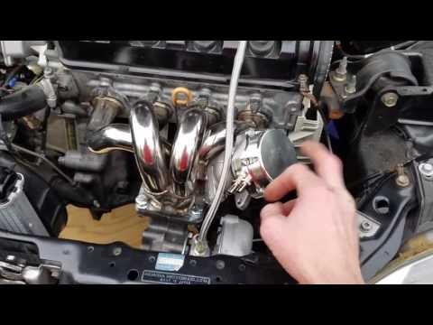 JTMR 93 Honda Civic D15B VTEC turbo DIY