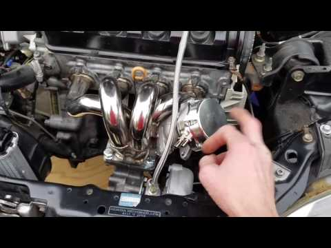 93 Honda Civic D15B VTEC turbo DIY