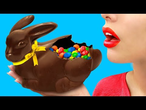 Большой шоколадный кролик / Пасхальный декор – 8 лучших идей