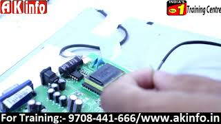 How to use step down circuit in led TV