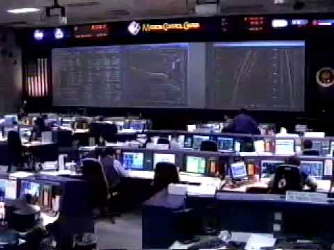 STS-107 Re-entry live NASA TV coverage of the Columbia accid