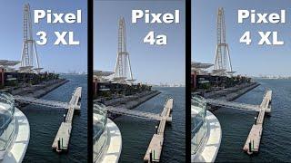 Pixel 4a vs Pixel 3 XL vs Pixel 4 XL - Morning Camera Comparison - Flagship Camera In A Budget Phone