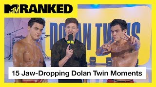 15 Times The Dolan Twins Made Our Jaws Drop 😱 | MTV Ranked