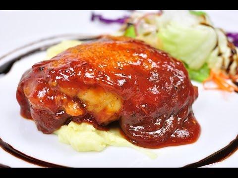 สเต็กไก่บาร์บีคิว Chicken B.B.Q