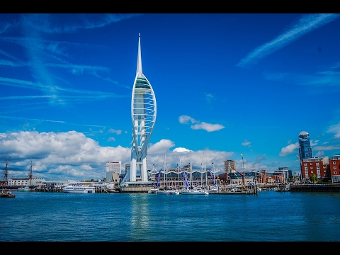 Portsmouth, Hampshire, England - city tour