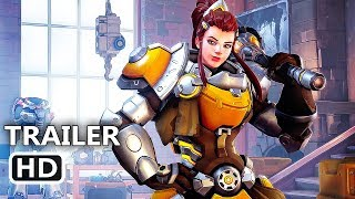 PS4 - Overwatch Brigitte Trailer (2018) New Hero Available
