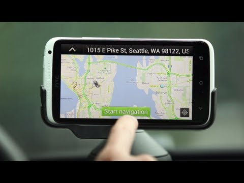HTC ONE series - Car navigation with your phone