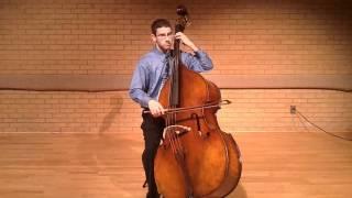 Bach Cello Suite No. 1, I. Prelude - Jason Scott Phillips, double bass