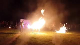 Sumy. Fire show 2018. Фаер шоу. День молодежи 24.06.18. Сумы