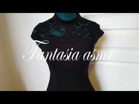 ASMR dresses, chuchotement, fabrics sound, french asmr