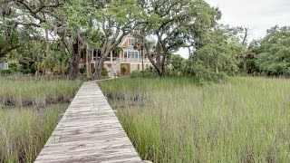 Custom Built Home with River and Marsh Views in Seabrook Island, South Carolina