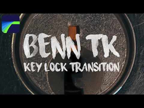 LumaFusion Benn TK Key Lock Transition Effect Tutorial