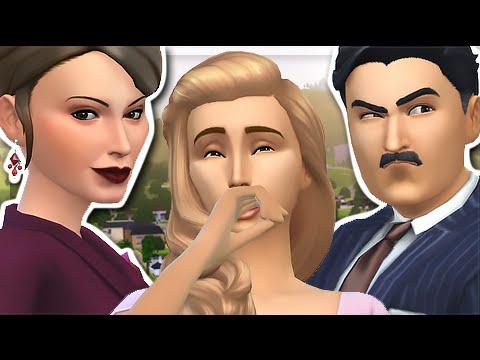 Delgato family sims 4