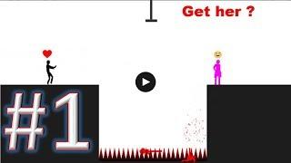 Stupid Stickman gameplay walkthrough 1 android & ios
